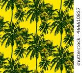 tropical seamless pattern  ... | Shutterstock .eps vector #466610837