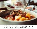 goulash     this popular... | Shutterstock . vector #466681013