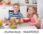 Two Happy Children Having...
