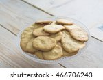 sand cookies on table | Shutterstock . vector #466706243