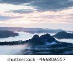 fairy daybreak in a beautiful... | Shutterstock . vector #466806557