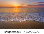 Magic Sunset View Seascape Wit...