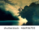 3d landscape illustration which ... | Shutterstock . vector #466936703