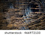 an steel bar rusty with soft... | Shutterstock . vector #466972133