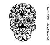 lines art design of unique... | Shutterstock .eps vector #466983983