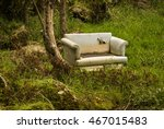 Old Sofa In A Forest An Exampl...
