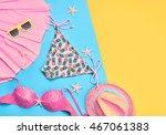 fashion. summer clothes ... | Shutterstock . vector #467061383