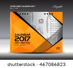 desk calendar for 2017 year ... | Shutterstock .eps vector #467086823