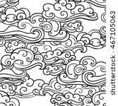 traditional oriental ornament... | Shutterstock .eps vector #467105063
