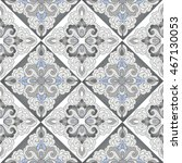 vector oriental tile seamless...