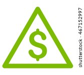 money warning icon. vector... | Shutterstock .eps vector #467152997