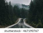 beautiful bavarian landscape... | Shutterstock . vector #467190767