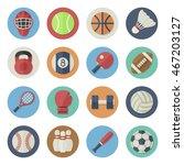 vector illustration. flat icon... | Shutterstock .eps vector #467203127