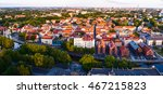 aerial view of the old town... | Shutterstock . vector #467215823