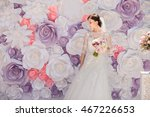 wedding. wedding day. paper... | Shutterstock . vector #467226653