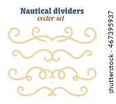 Nautical Text Dividers....