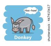 Donkey Vector Illustration On...