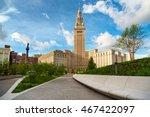 cleveland's terminal tower... | Shutterstock . vector #467422097