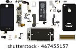 repair the smartphone.... | Shutterstock .eps vector #467455157