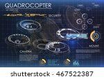 sci fi futuristic background... | Shutterstock .eps vector #467522387