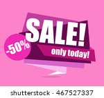 sale banner  special offer  50... | Shutterstock .eps vector #467527337