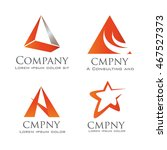 Corporate Logo Template Triad...