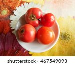the photo shows a fruit is an... | Shutterstock . vector #467549093