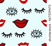 vector seamless pattern with... | Shutterstock .eps vector #467559473