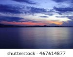 Sky And Cloud Over Island At...