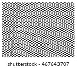 vector fence chain link pattern.... | Shutterstock .eps vector #467643707