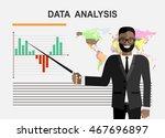 business concept. cartoon... | Shutterstock .eps vector #467696897