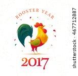vector new year congratulation... | Shutterstock .eps vector #467712887