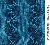Textured Snake Skin Textile...