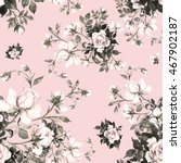 watercolor seamless pattern... | Shutterstock . vector #467902187