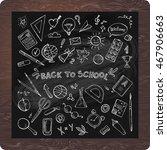 back to school illustration. | Shutterstock .eps vector #467906663