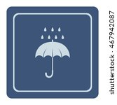 umbrella icon  vector design  | Shutterstock .eps vector #467942087