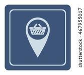 shopping basket icon  web... | Shutterstock .eps vector #467955017