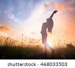 world health day concept ... | Shutterstock . vector #468033503
