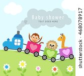 baby shower | Shutterstock .eps vector #468078917