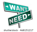 want need back to basic needs... | Shutterstock . vector #468151217