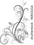 vector ornament | Shutterstock .eps vector #46816216