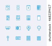 appliances icons | Shutterstock .eps vector #468239417