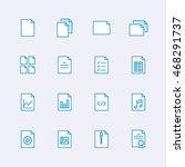 multimedia icons | Shutterstock .eps vector #468291737
