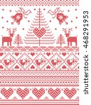 scandinavian style and nordic... | Shutterstock .eps vector #468291953