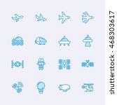 air vehicles | Shutterstock .eps vector #468303617