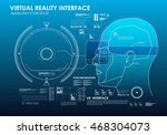 set of hud elements for virtual ...