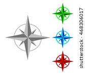 ompass   vector illustration