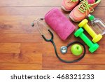 health check before exercise... | Shutterstock . vector #468321233