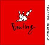sports pictogram | Shutterstock .eps vector #468334463