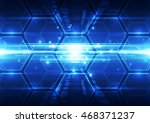 vector digital speed technology ...   Shutterstock .eps vector #468371237